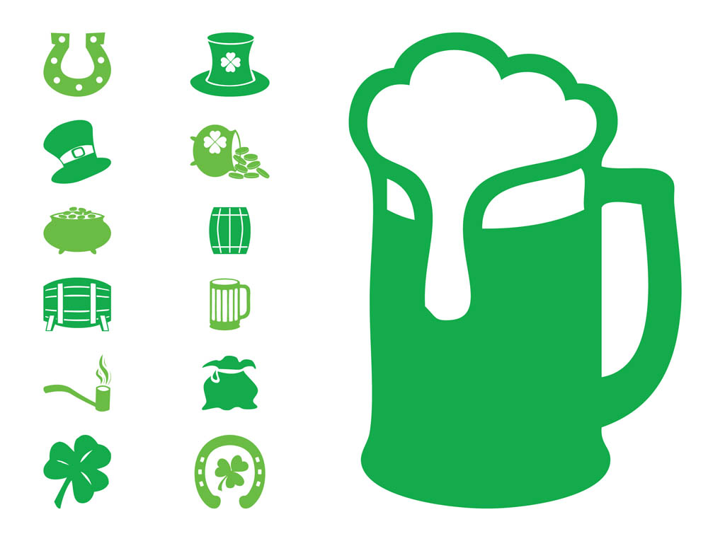 Saint Patrick's Icon Set