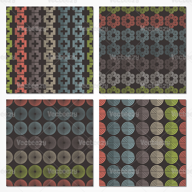 Abstract Pattern Vector Pack