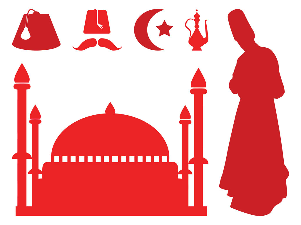 Turkish Silhouettes Vector Art & Graphics | freevector.com