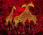 Giraffes Artwork