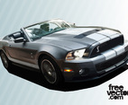 Sports Car Vector Free