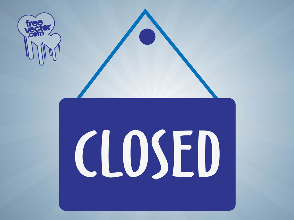 office closed sign template free .
