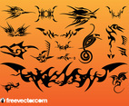 Tribal Tattoo Vectors Pack