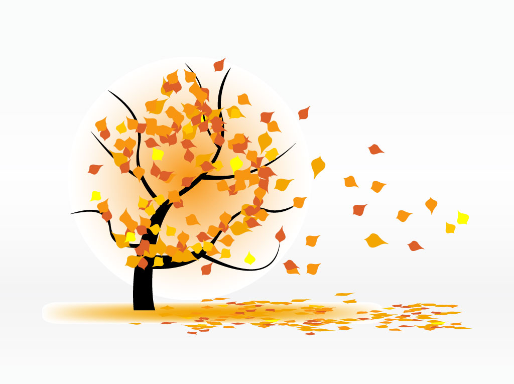 Autumn Leaves Blowing Vector Art & Graphics | freevector.com