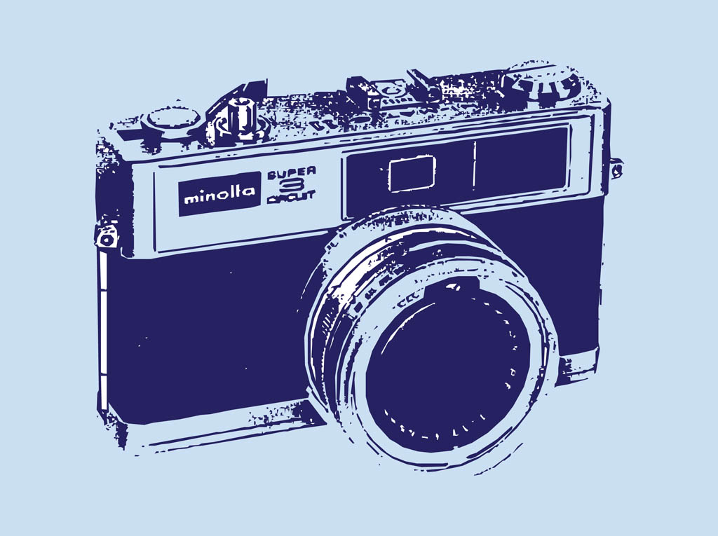 vintage camera vector footage of an old camera grunge graphics of a ... Vintage Camera Backgrounds