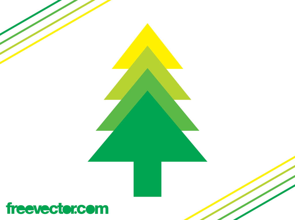 Evergreen Tree Icon Vector Art & Graphics | freevector.com