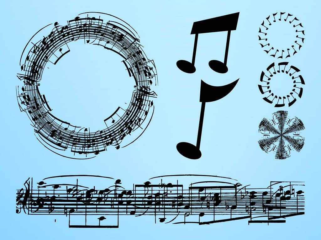 Musical Notes Layouts