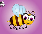 Cartoon Bee Character