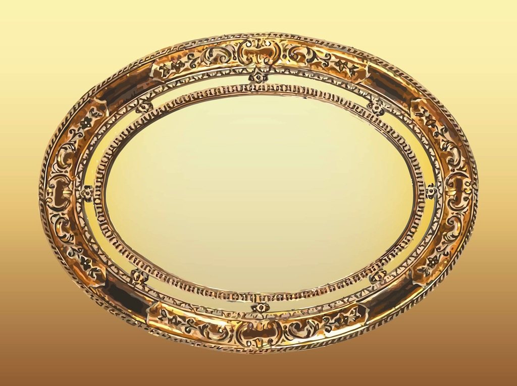 a23662a137df Oval Frame Vector Art   Graphics
