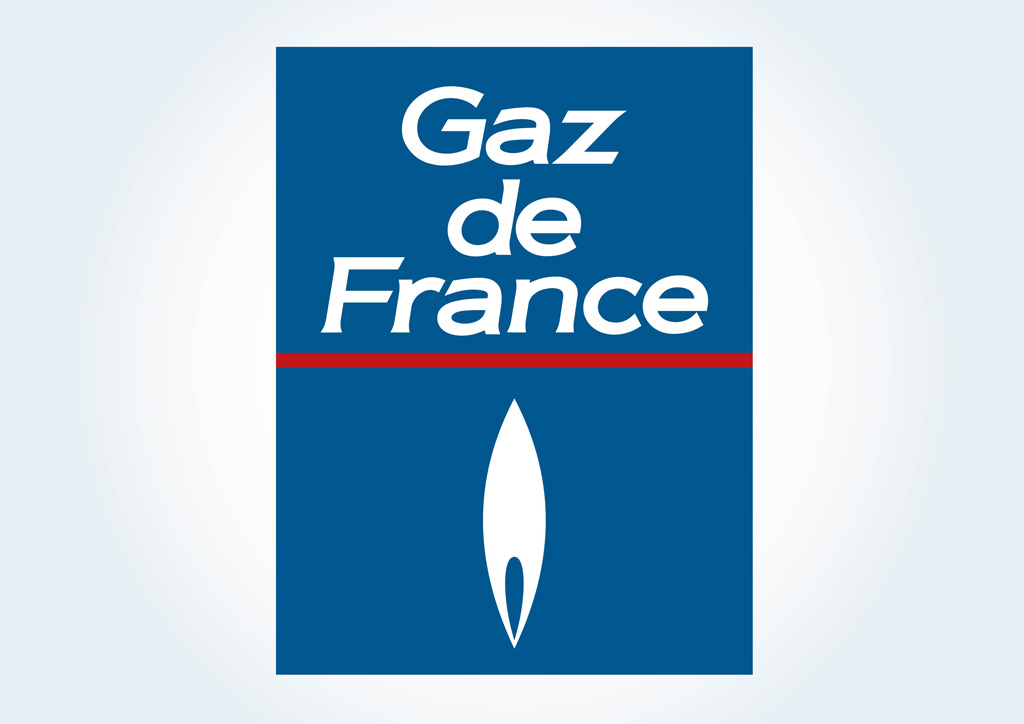gaz de france vector art  u0026 graphics