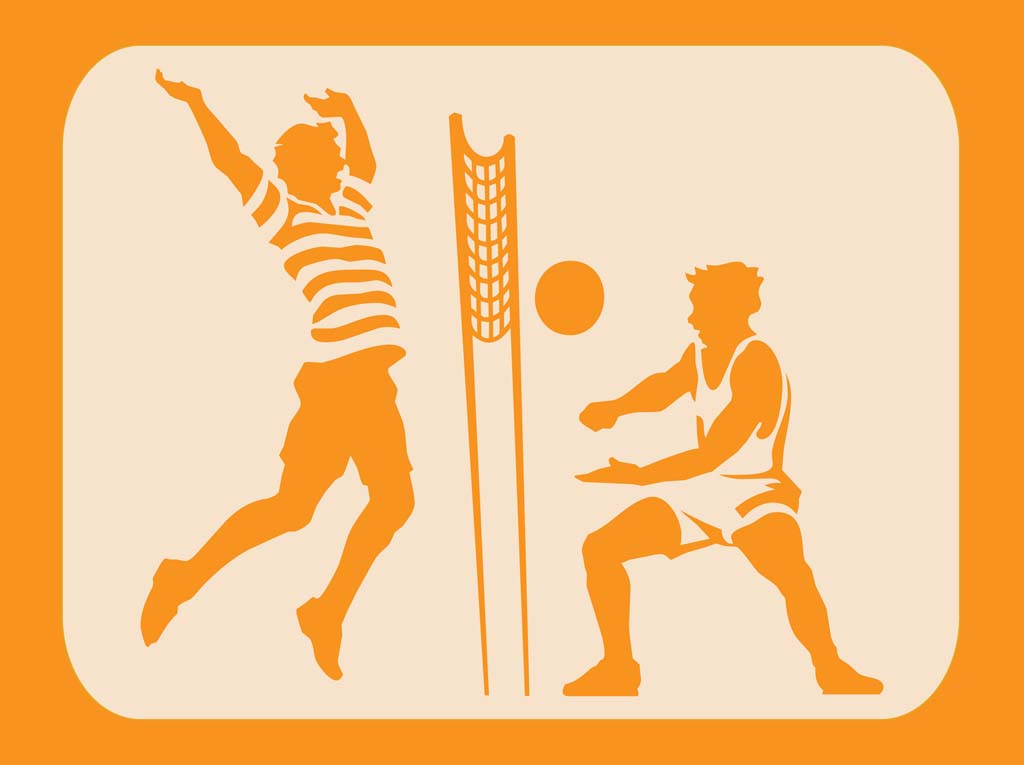 volleyball clipart vector - photo #45