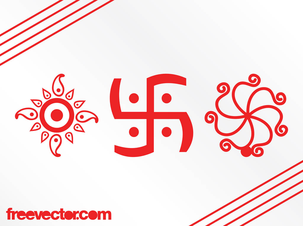Indian Symbols Graphics Vector Art Graphics Freevector