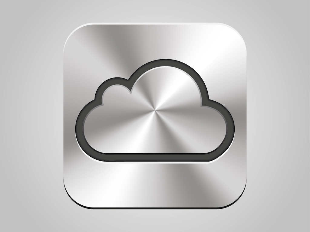 apple i cloud icon vector art amp graphics freevectorcom