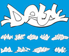 Graffiti Piece Set