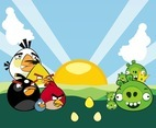 Angry Birds Characters Vector