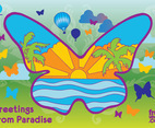 Paradise Butterfly