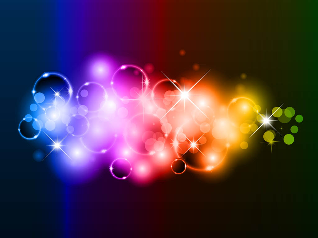 rainbow bubbles background vector art  u0026 graphics