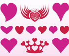Romantic Hearts Designs
