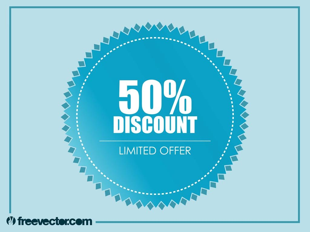 Discount Badge Vector