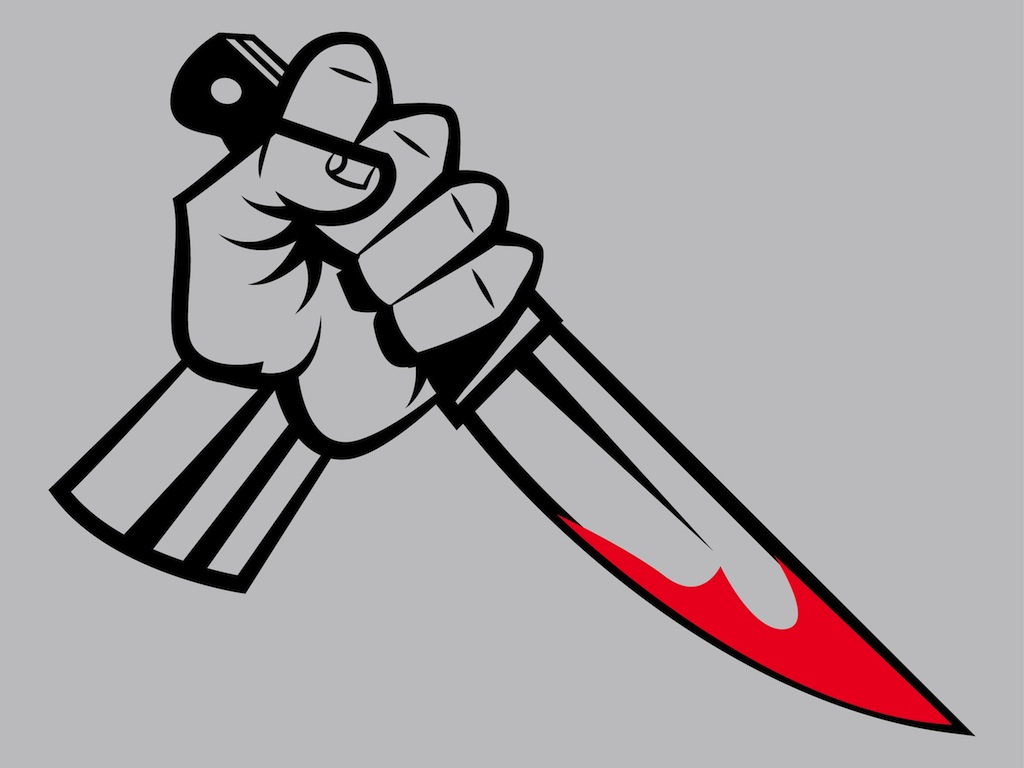killer hand vector art   graphics freevector com bloody knife clip art Bloofy Knife Place Setting