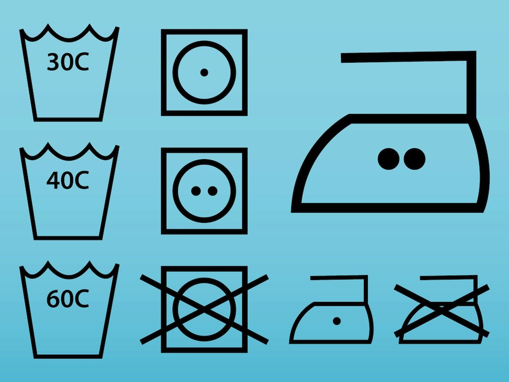 Clothing Label Icons