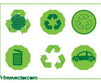 Eco Icons Vectors
