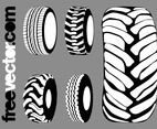 Tires Graphics Set