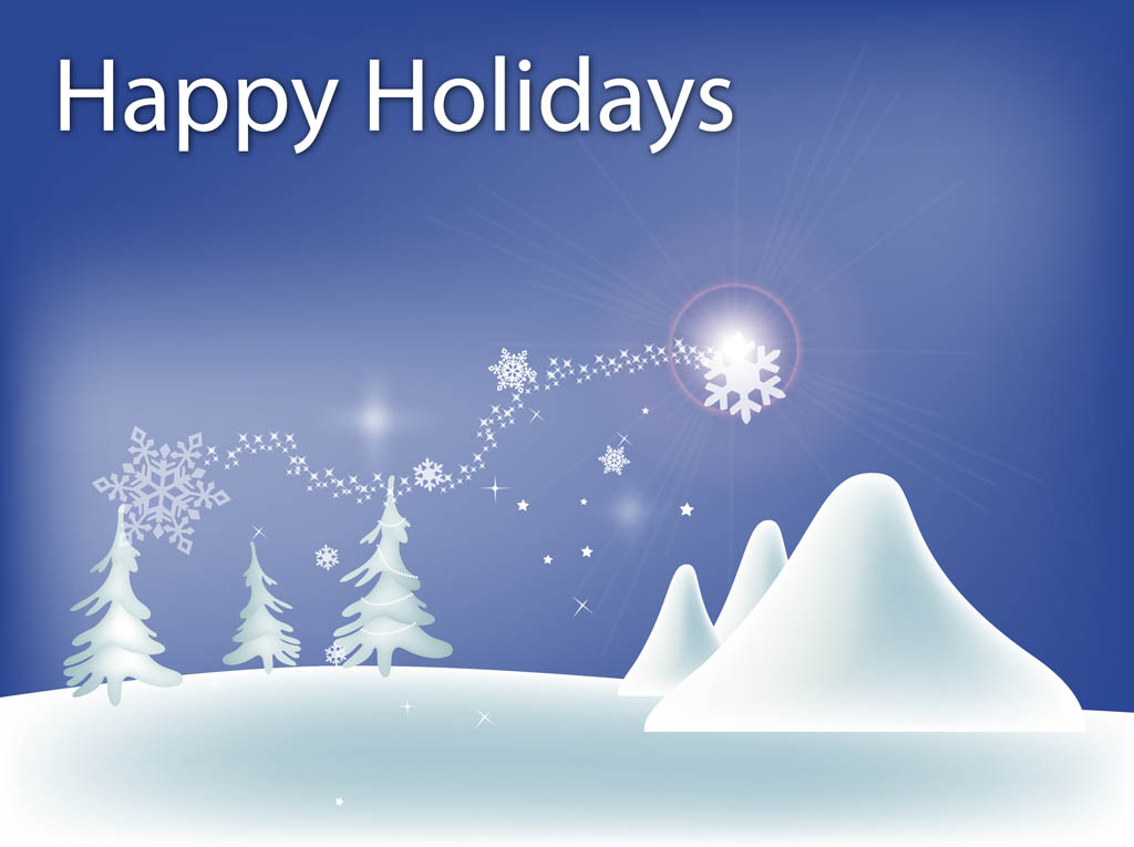 Winter Holidays Vector Art & Amp Graphics Freevectorcom