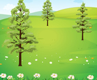 Nature Wallpaper Vector