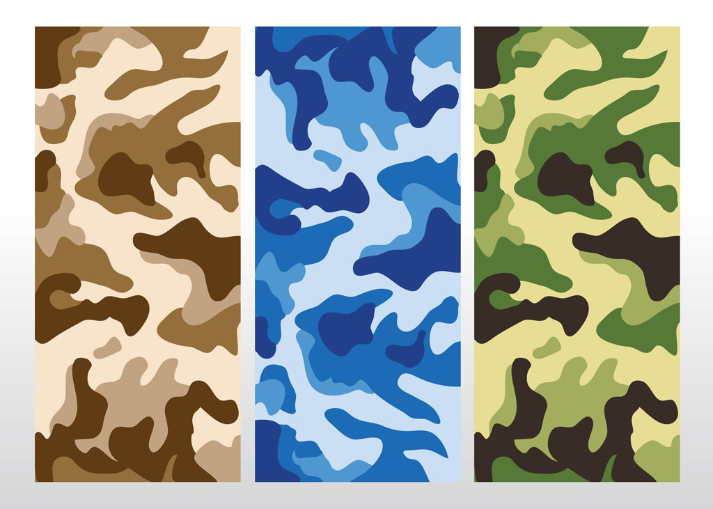 camouflage pattern vector vector art graphics