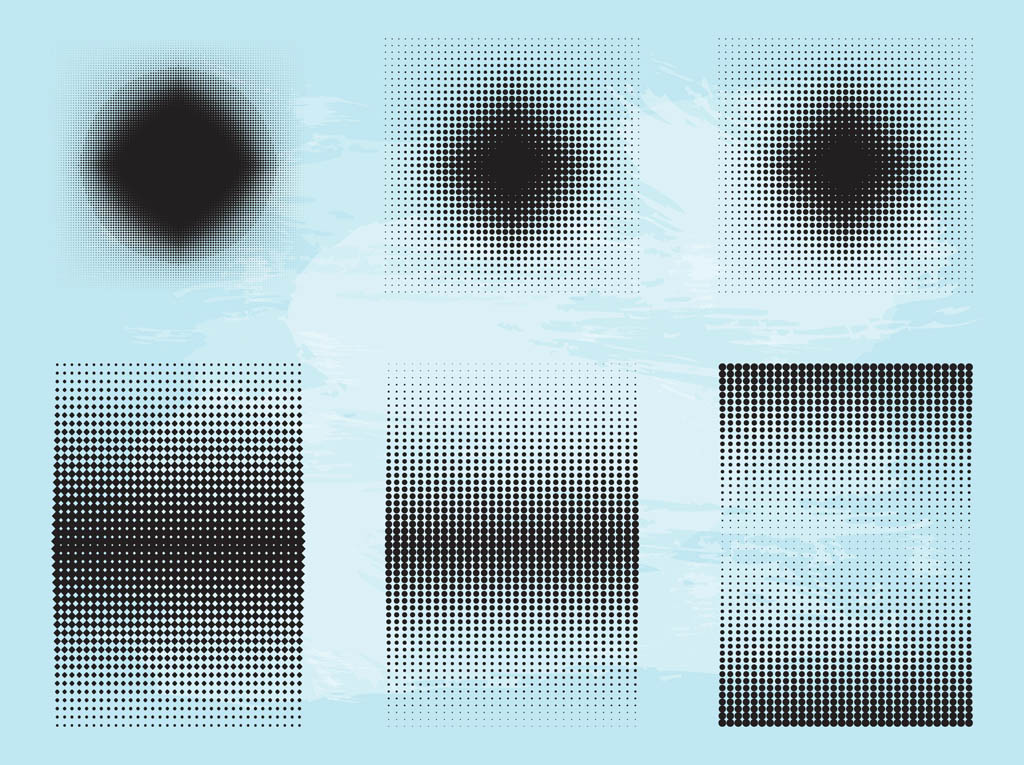 Halftone Patterns Graphics