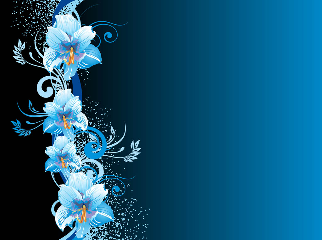 blue flowers backgrounds related keywords suggestions