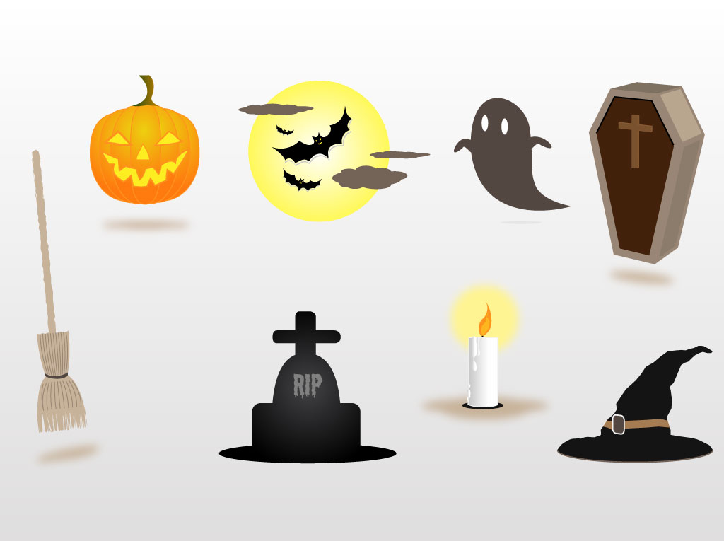 Free Halloween Decorations 28 free halloween printables that simplify the whole decorating ordeal Halloween Decorations Vectors