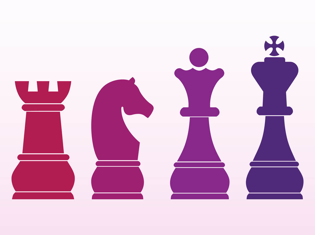 Chess Pieces Vector Art & Graphics | freevector.com