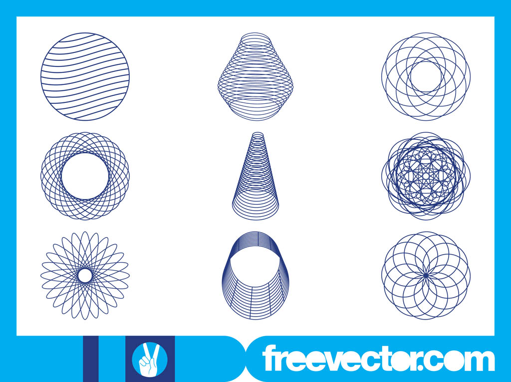 Abstract Wireframe Designs