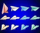Colorful Paper Planes