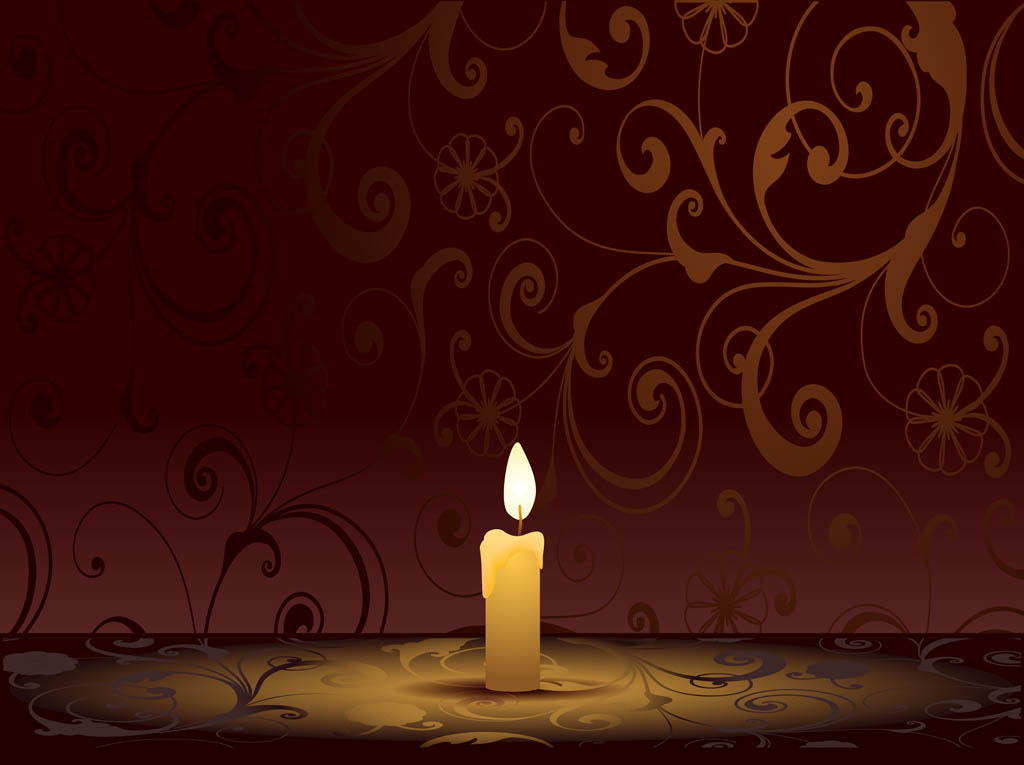 Burning Candle Graphics