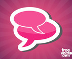 Speech Bubbles Sticker