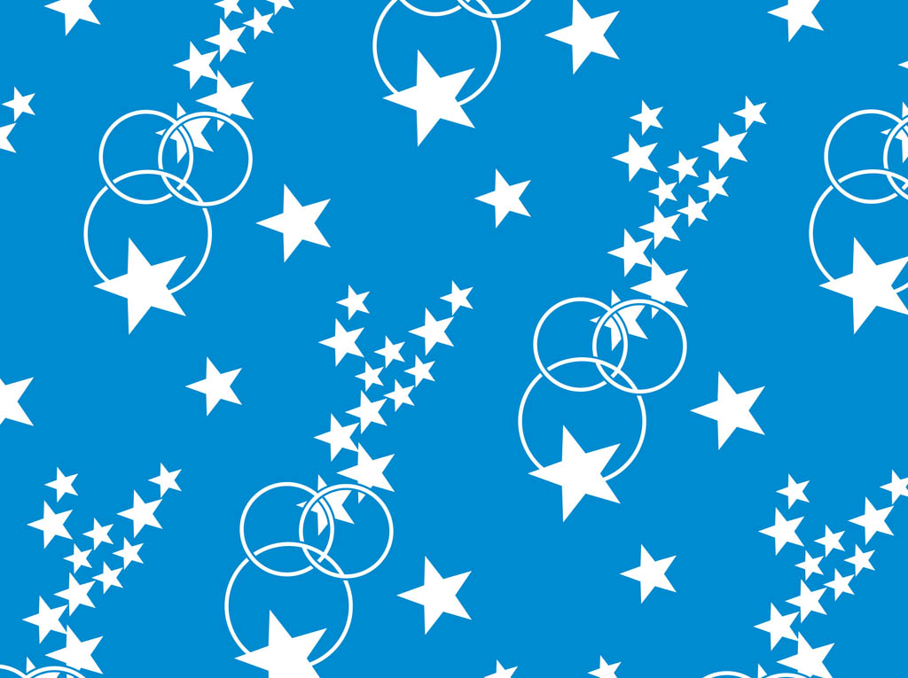 Stars And Circles Pattern