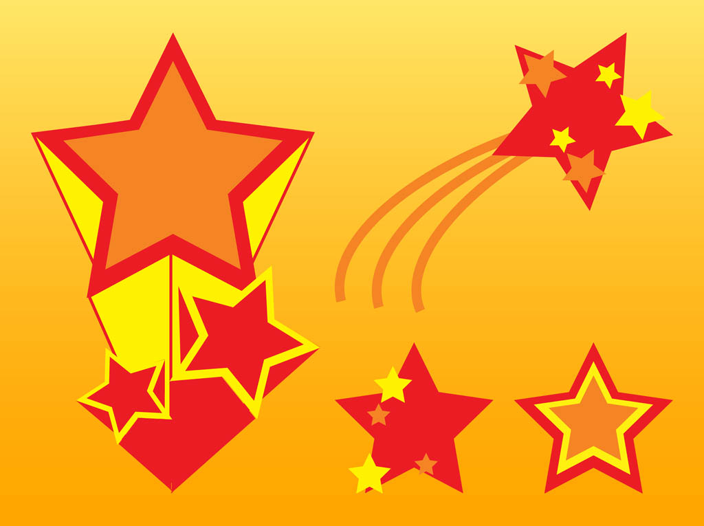 Stars Vector Graphics