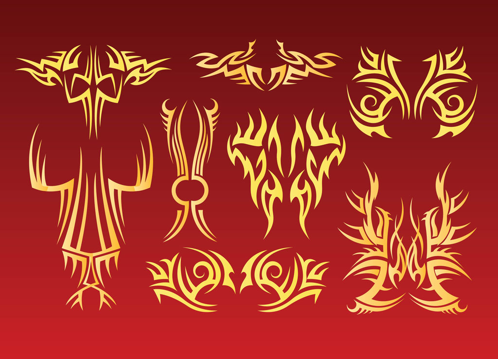 Tribal Tattoo Vectors