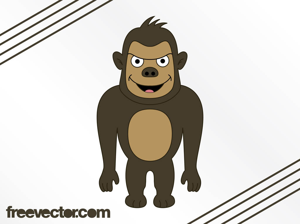 Cartoon Gorilla