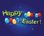 Free Easter Eggs Vector