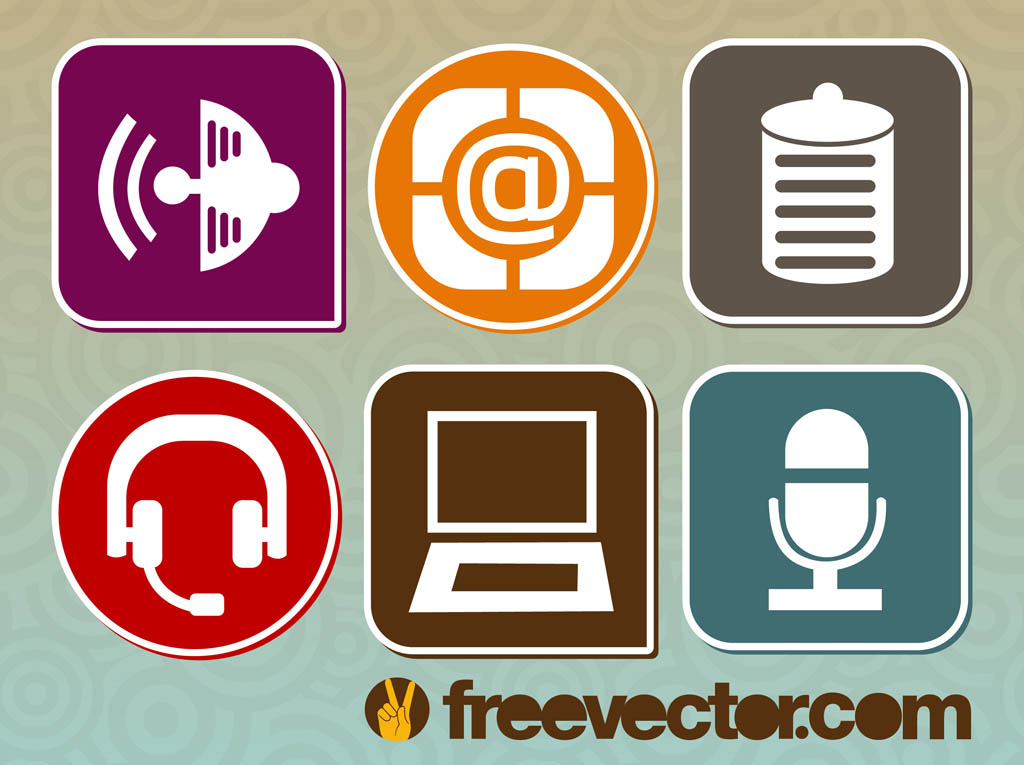 symbols technology vector symbol freevector simbol vecteezy icons graphics antenna