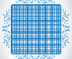 Vintage Plaid Vector