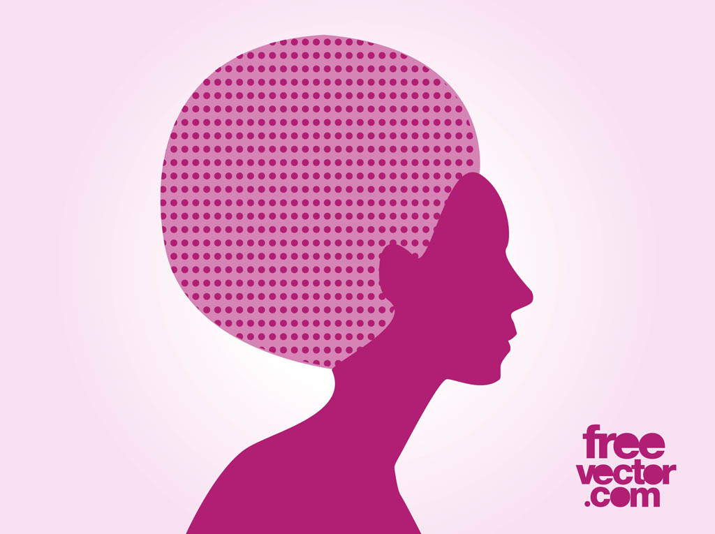 Afro Hair Vector Afro Hair Girl