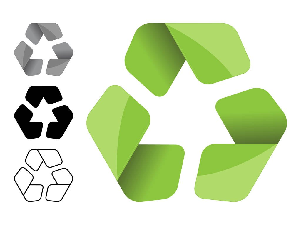 Recycling Symbols Set