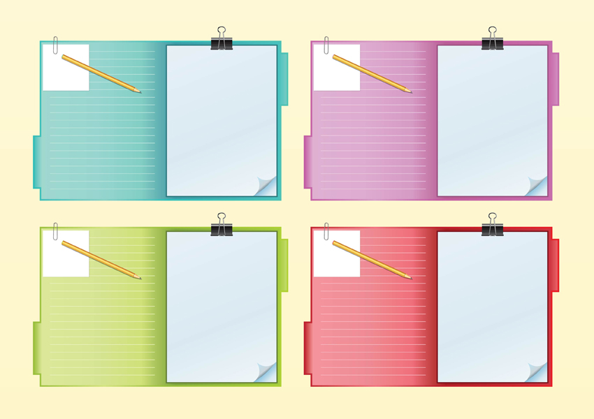 Notebook Vectors