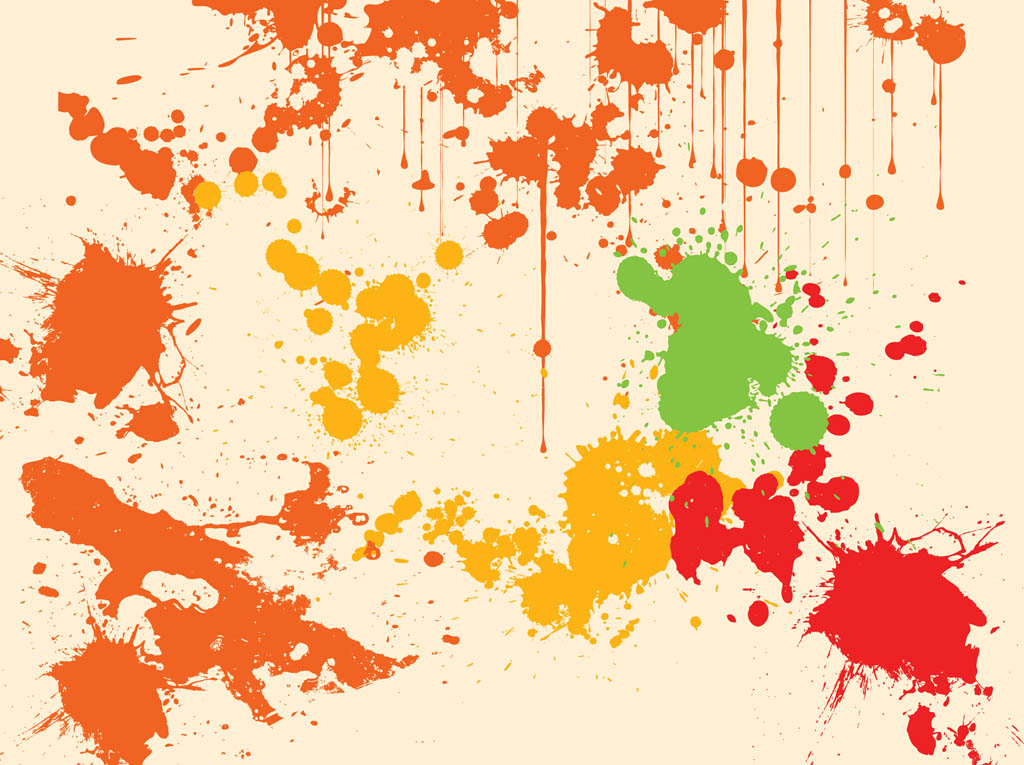 Splatter Background Vector Vector Art & Graphics ...