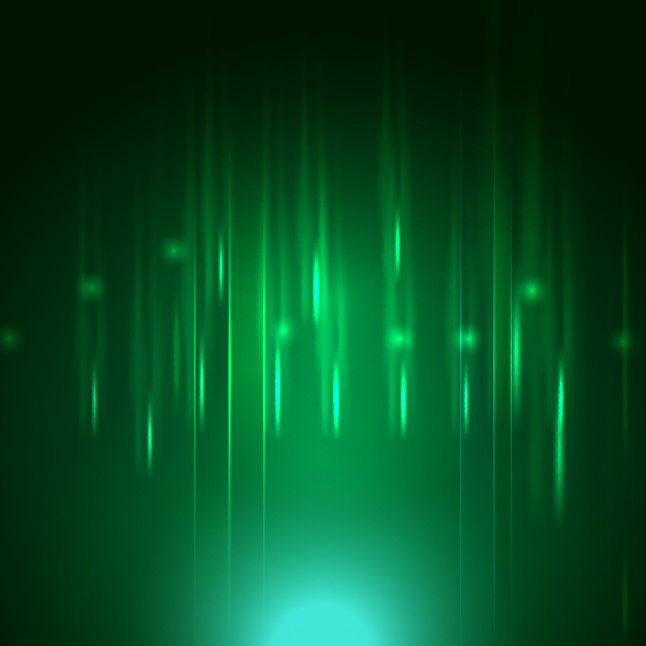 Green Light Vector Background